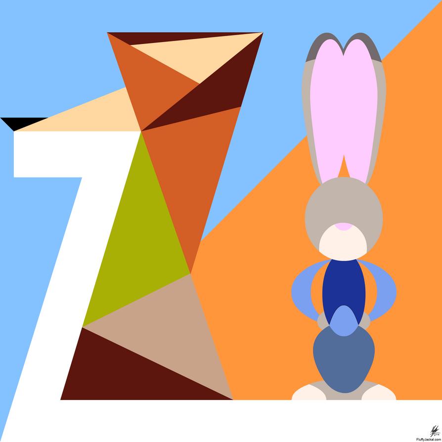 Zootopia Minimal by Stitchfan