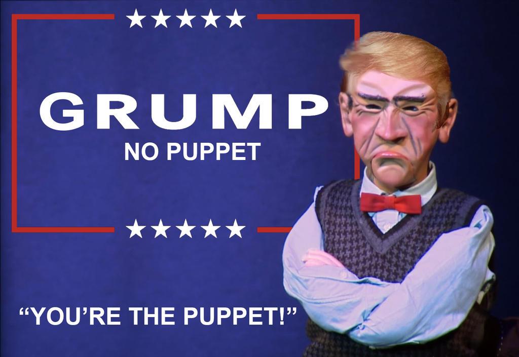 Grump - No Puppet! - 2016 by Stitchfan