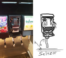 Found Characters - Seltzor