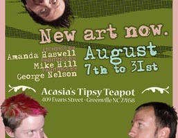 Art show Flyer by mikehillartworks