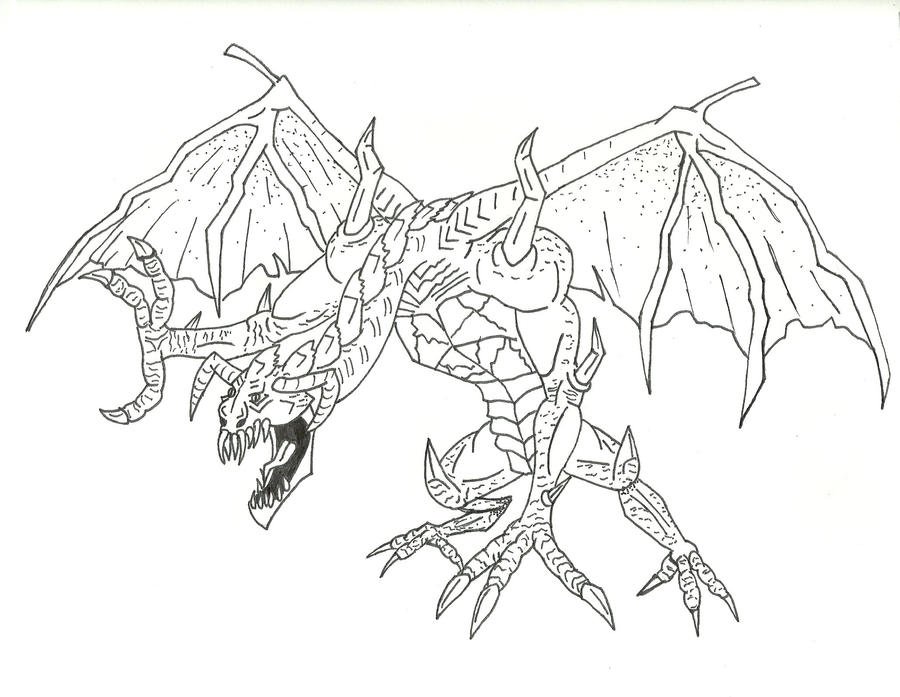 Dragon Monster Thing by ThatDudeNamedBrian