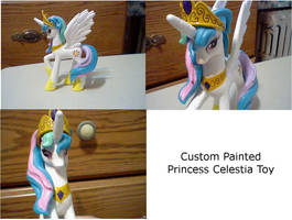 Custom Princess Celestia Toy by ThatDudeNamedBrian