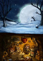 Winter's Heart by zoraor