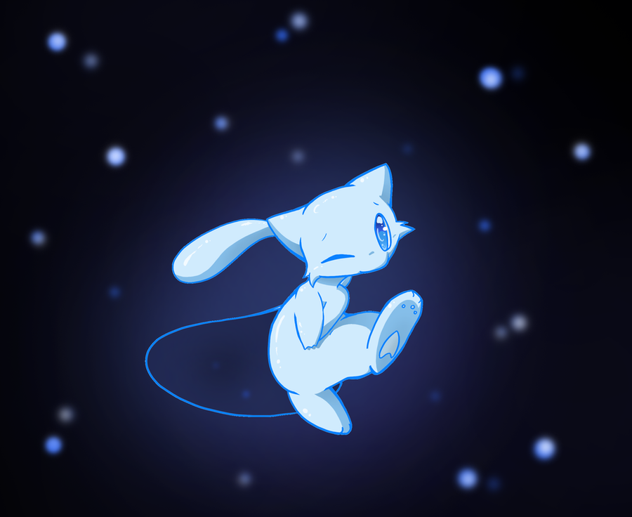 Shiny Mew by Sweet-n-treat on DeviantArt
