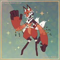Scarfox Guest Artist - Desert Runner [CLOSED] by Sweet-n-treat
