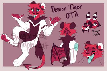 Demon Tiger OTA [CLOSED] by Sweet-n-treat