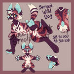 Striped Wild Dog Auction [CLOSED]