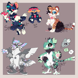 Customs/Redesigns Batch 1 by Sweet-n-treat