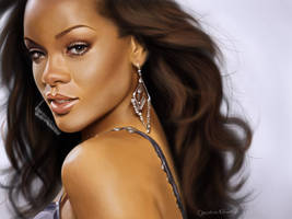 Rihanna by CandyMilla