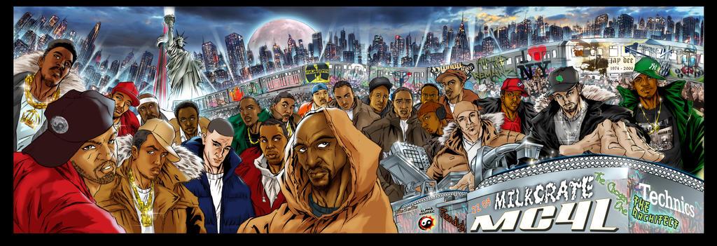 Album Cover final Hip Hop Producers MILKCRATE by Chozenstudios