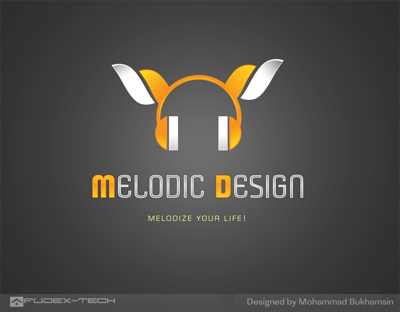 Melodic Design   Logo by fudexdesign High Quality Clear & Concise Logo Designs: Taken From DeviantART