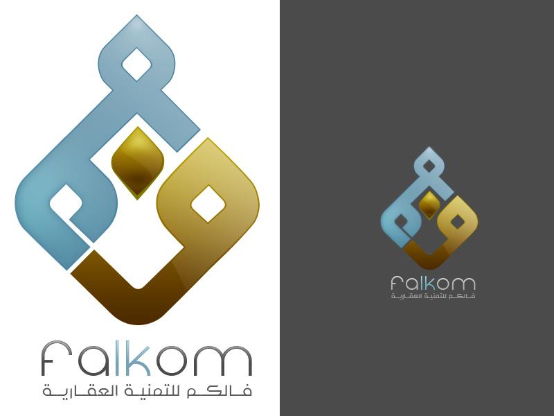 Falkom logo by fudexdesign