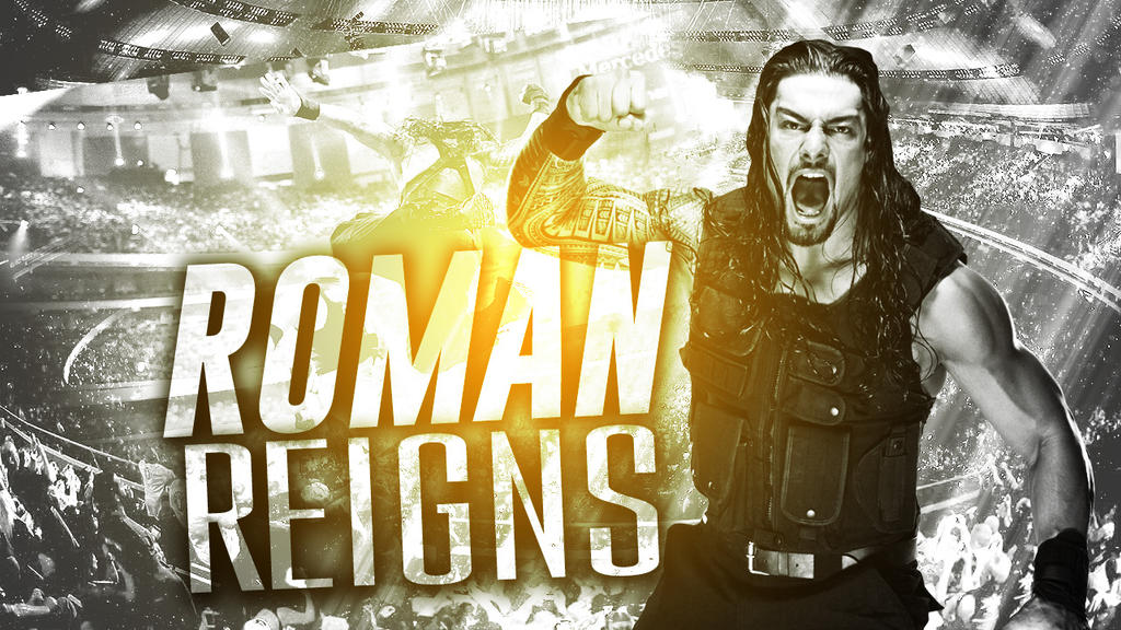 Roman Reigns Graphic Wallpaper #2 by thewholedamnshow on DeviantArt