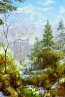 Spring by Helvende