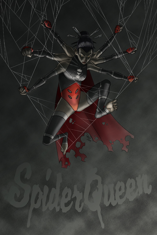 Spider Queen by DBed