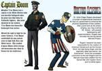 Captain Doom vs Doctor America