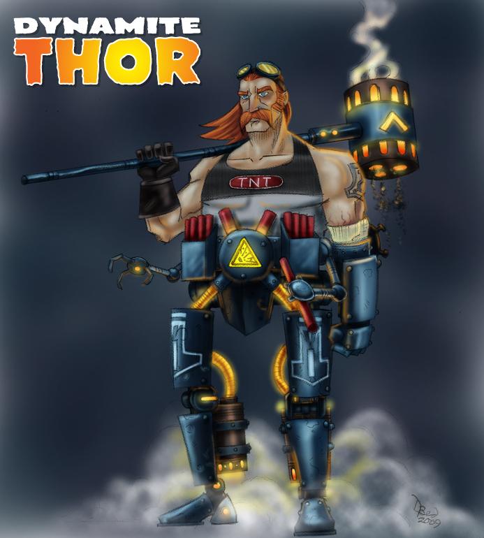 Dynamite Thor by DBed