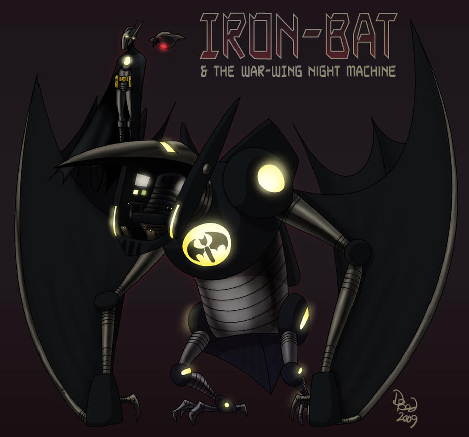 Iron Bat - Amalgamation by DBed