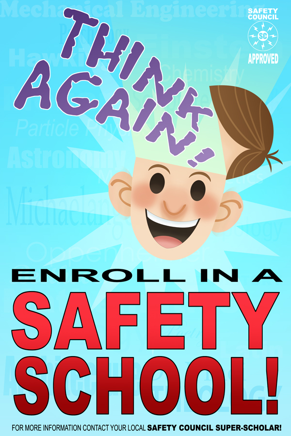 Safety Council Poster by DBed