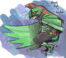007 - Emerald Eagle Ruby Hawk by DBed