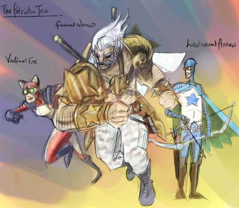 011 - The Patriotic Trio