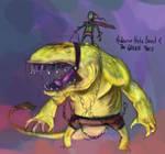 025 - Hate Beast Green Thief