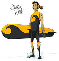 034 - Black Wave by DBed