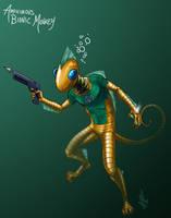 037 - Amphibious Bionic Monkey by DBed