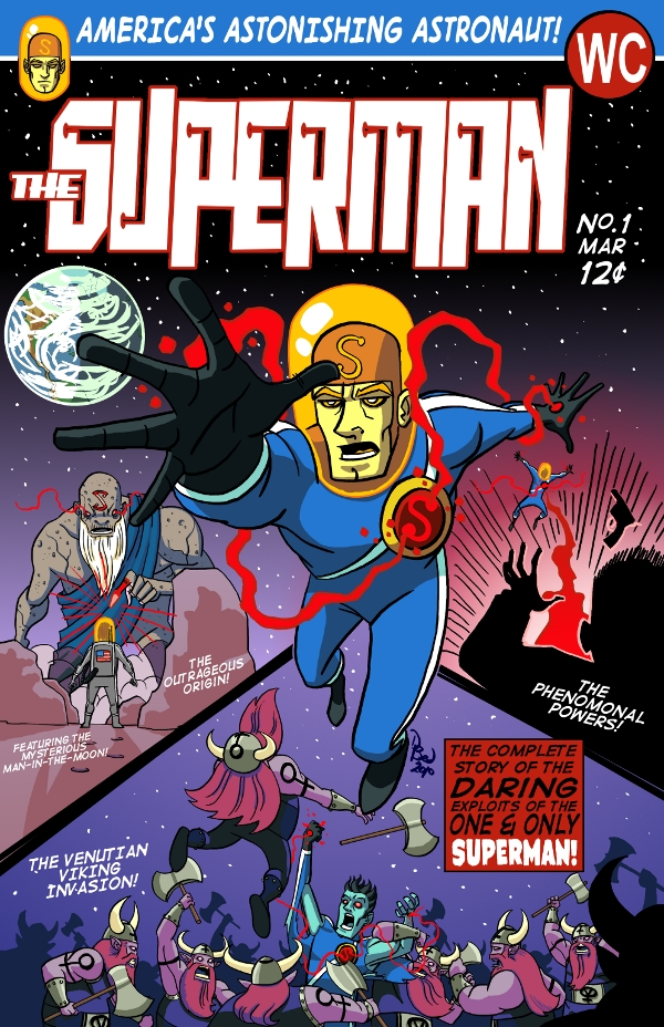 Superman #1 by DBed