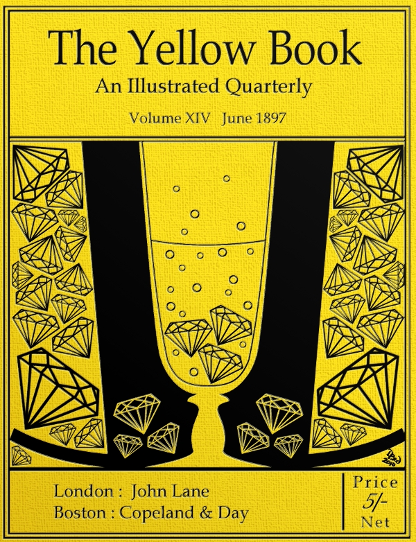 Book With Black And Yellow Cover : Cover remake yellow book xiv by dbed on deviantart