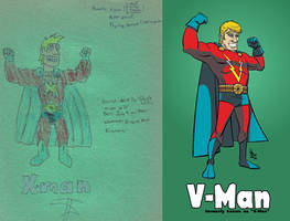 Vision Force - V-Man 1988-2010 by DBed