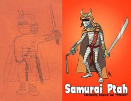 Samurai Ptah 1988-2010 by DBed