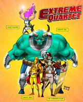 058 - Extreme Quartet by DBed