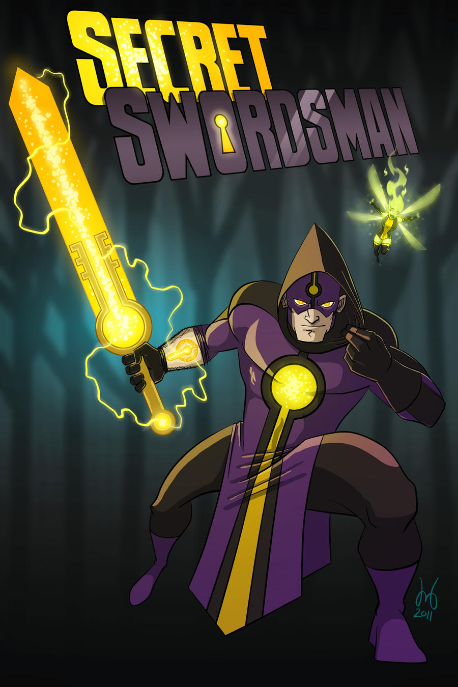 Secret Swordsman by DBed