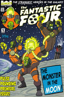 Remake - The Fantastic Four 1 by DBed