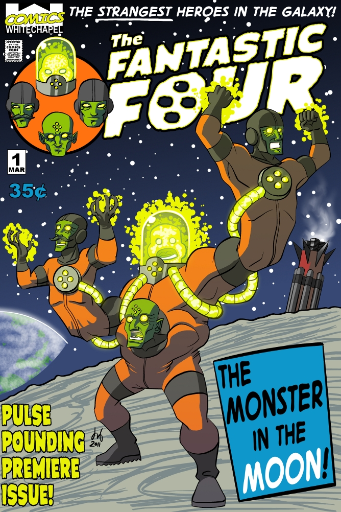 FantasticFour#1 by DBed