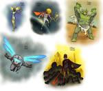 Random Characters 063-067