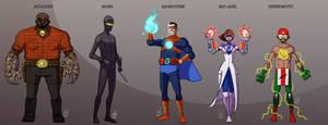 5 Heroes - NovaBurst