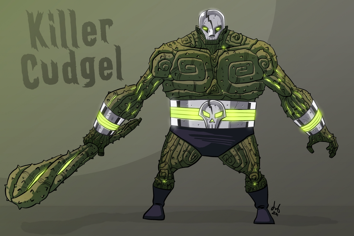 Killer Cudgel by DBed