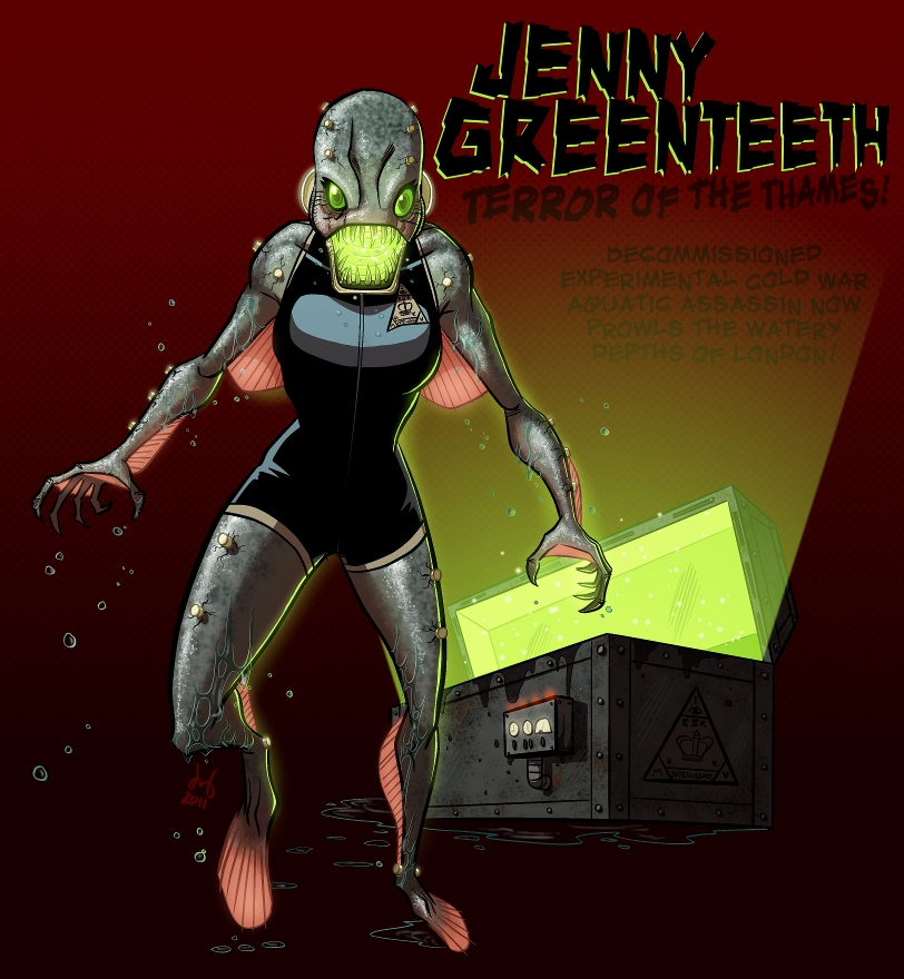 Jenny Greenteeth by David Bednarski