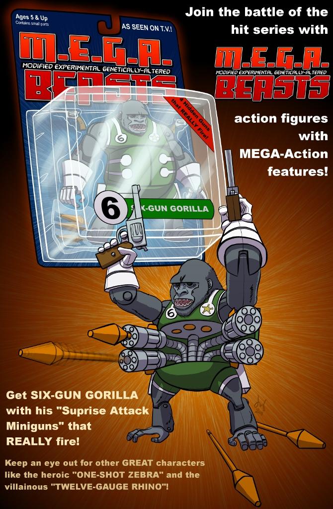 Six-Gun Gorilla by David Bednarski