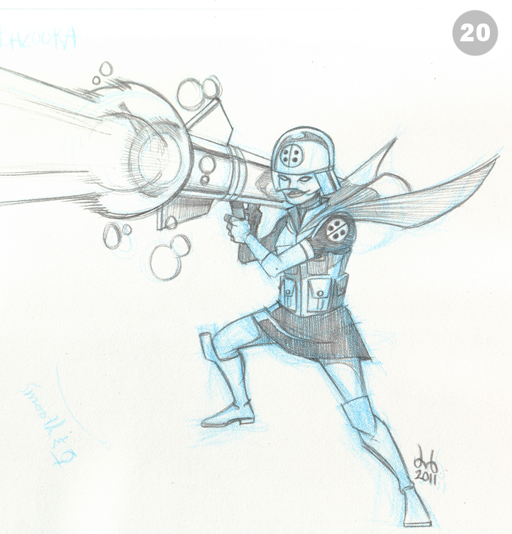 20 - Blue Bazooka by DBed