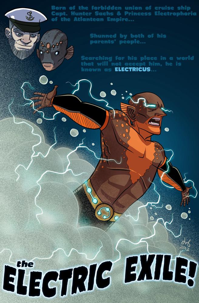 Electric Eel by David Bednarski