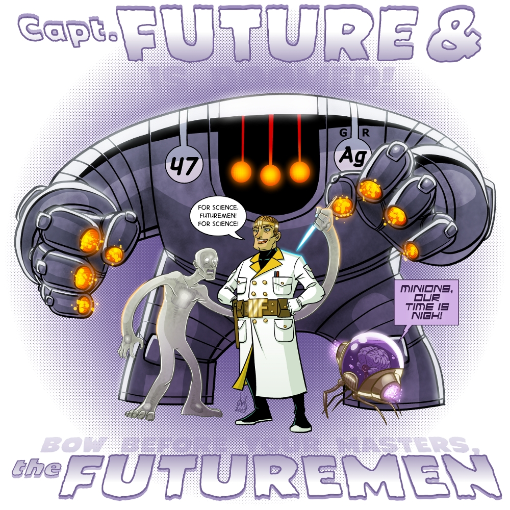 Captain Future & the Futuremen by David Bednarski