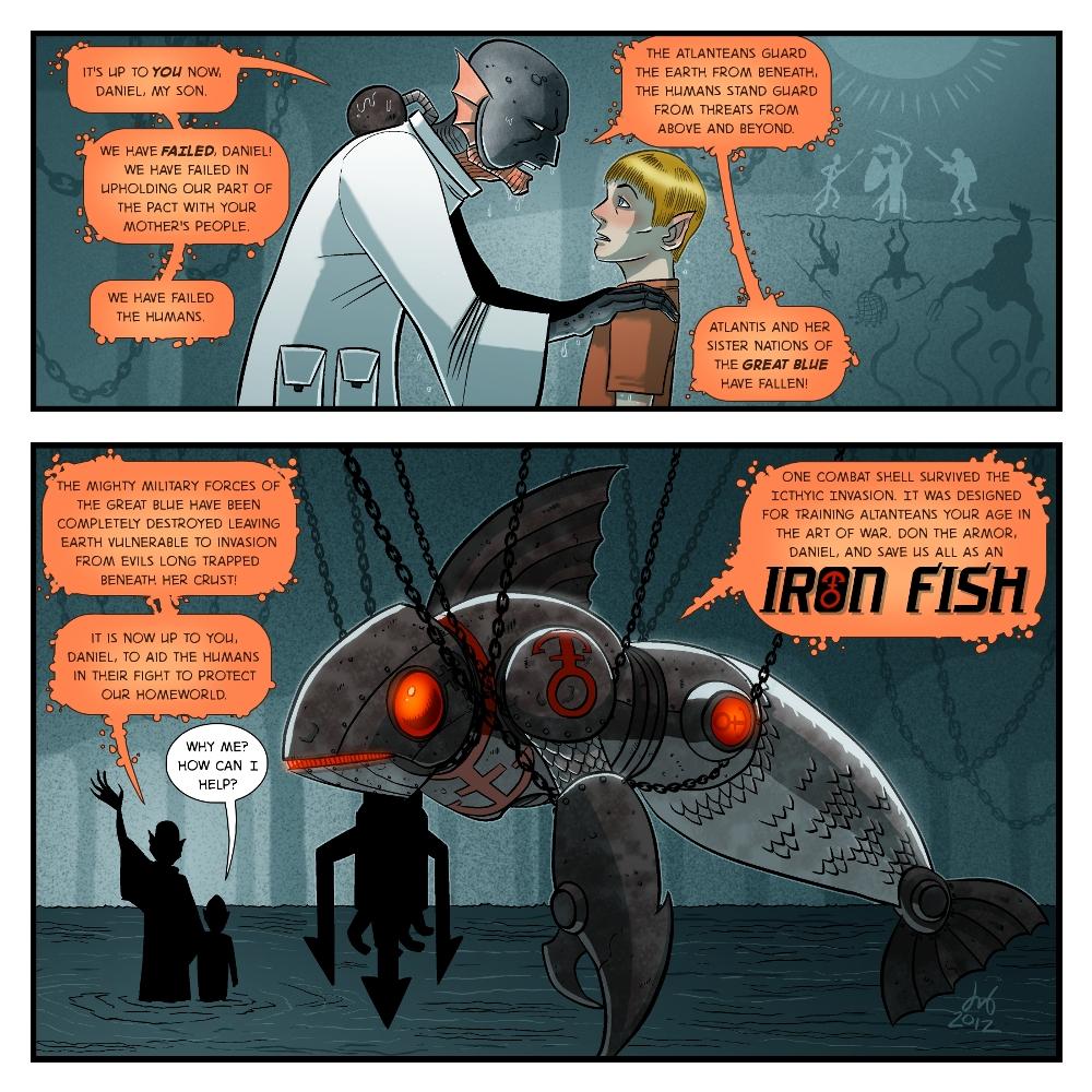 DBed's Iron Fish