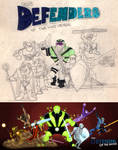 Defenders of the Universe 1990-2012 by DBed