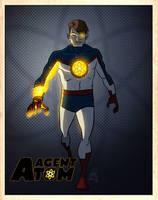 LegacyHeroComics' Agent Atom by DBed