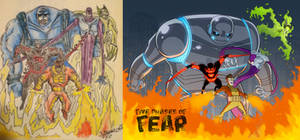 21 Years Later... Five Phases of Fear by DBed