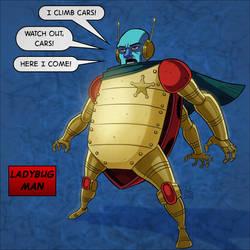 Ladybug Man - Inks and Colors