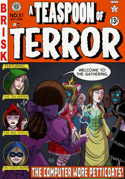 COMMISSION - A Teaspoon of Terror Cover